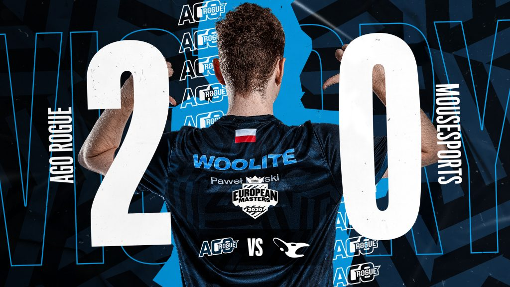 AGO Rogue took the victory against mousesports.