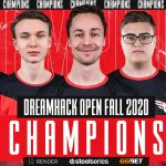 Heroic beats Vitality and takes the Dreamhack Open Fall 2020