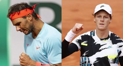 Roland Garros will witness the meeting between Nadal and Sinner for the semi-finals