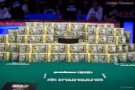 Very good figures for only 54 tournaments (WSOP)