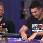 The last hour of the imminent match between Daniel Negreanu and Doug Polk