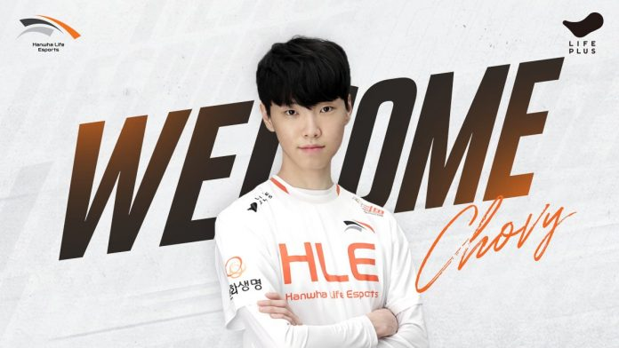 Deft and Chovy land at Hanwha Life Esports