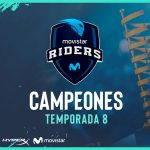 Movistar Riders is proclaimed champion of the eighth season of ESL Masters against sAw