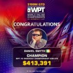 Gold for Dmytro Bystrovzorov at WSOP Online and WPT title for Dan Smyth