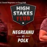 Negreanu scares punters in the first session of his match against Polk