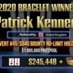Patrick Kennedy's Dream Day at GGPoker's $ 840 Bounty