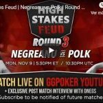Polk defends Negreanu after sweeping in the second online session of his Fiefdom