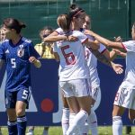 This is the international women's soccer team of MegaApuestas