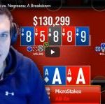 Doug Polk chooses the 5 best hands of his duel against Daniel Negreanu so far