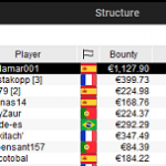 Calamar001 and macana007 achieve Spanish victories on the day of the return of the flags to PokerStars .frespt