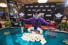 We are not going to keep Muradi's face.  WPT