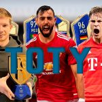Bruno Fernandes, De Bruyne and Kimmich TOTY