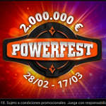 We locate the Spanish victories in the last days of the PartyPoker Powerfest