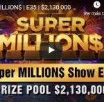 Justin Bonomo stands between Nick Petrangelo and his coveted Super MILLION $