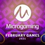 More than 20 slots available in February by Microgaming