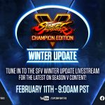 Street Fighter V Winter Update is coming down