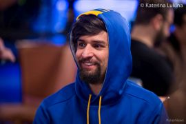 Sergi gave Monday some guts.  WSOP