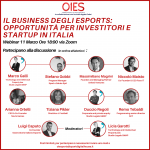 """The business of esports"", Oies webinar dedicated to companies"