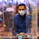 Sergio Aido and David Cabrera enjoy live on day 3 of the WPT at Venetian