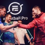 eFootball Pro: it's a big match between Juventus and Barcelona