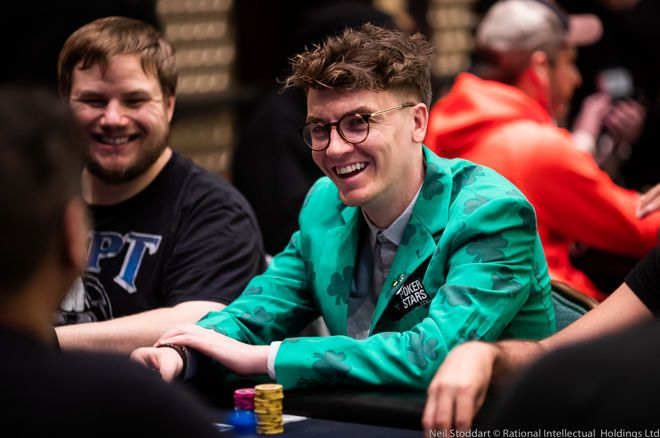 "Fintan ""easywithaces"" Mano in testa al Main Event dell'EPT Online dopo il Day 1"