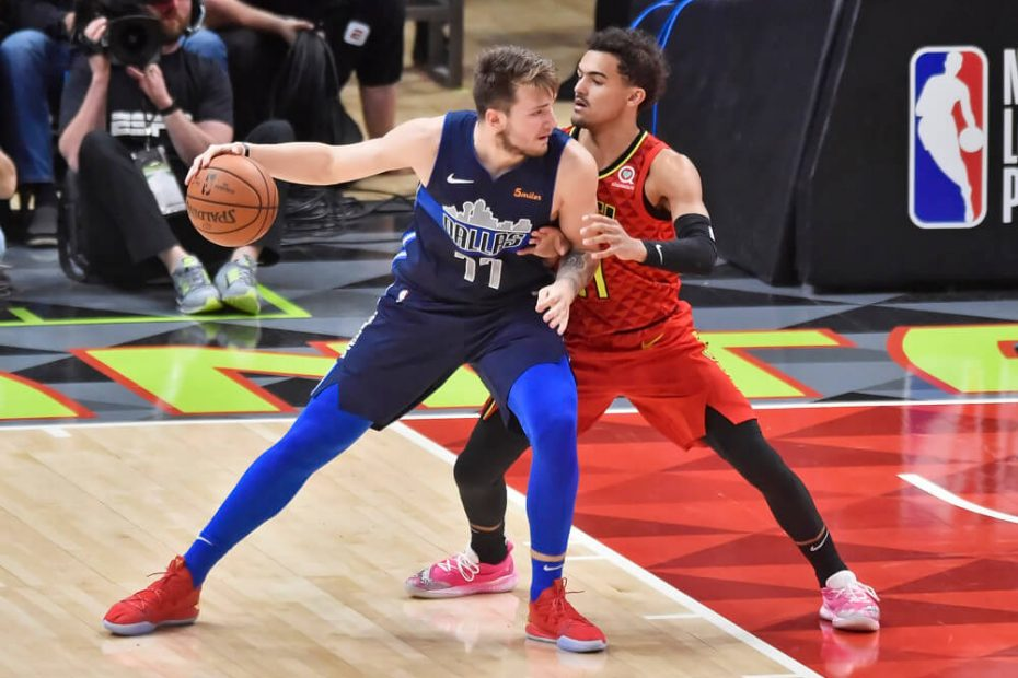 Luka Doncic vs Trae Young 2