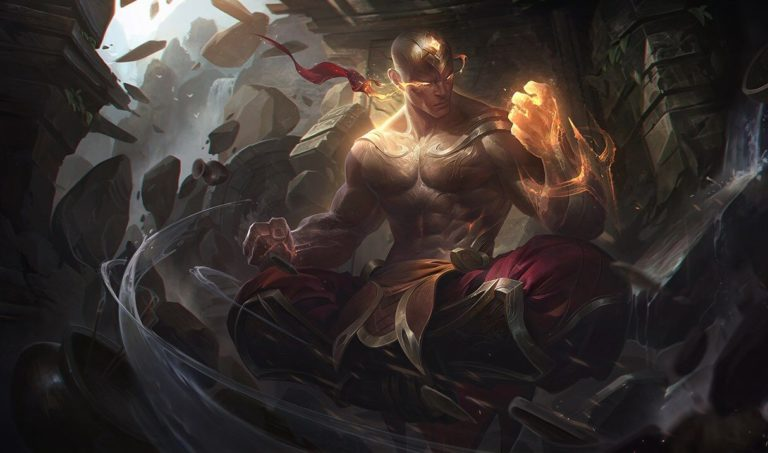 Skin Splash God Fist Lee Sin