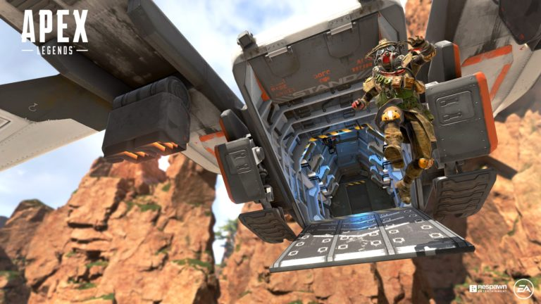 apex legends dropship 2