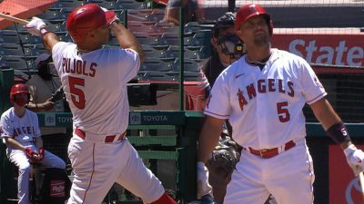 Albert Pujols' grand slam