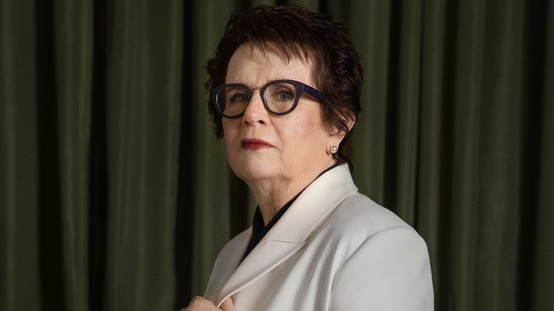 Billie Jean King aparece en la revista Glamour