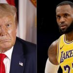 Las elecciones de estados unidos, NBA vs. Trump.