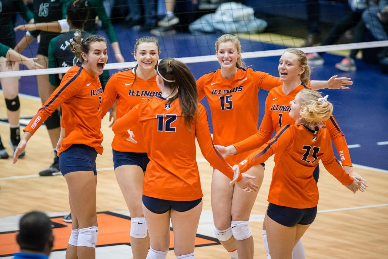 Volleyball gets ready for NCAA tournament | The Daily Illini