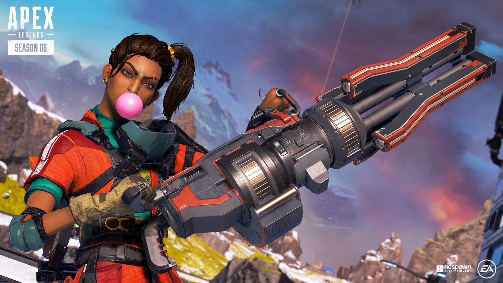 Respawn lanza Apex Legends 'Boosted Pack con una máscara Rampart y 600 Apex Coins