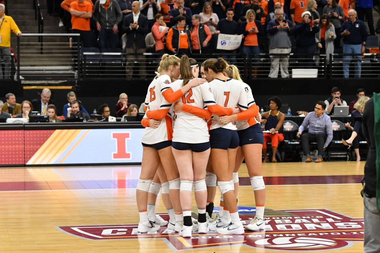 Illini Volleyball Falls To Nebraska In National Semifinals | News  Local/State | Illinois Public Media