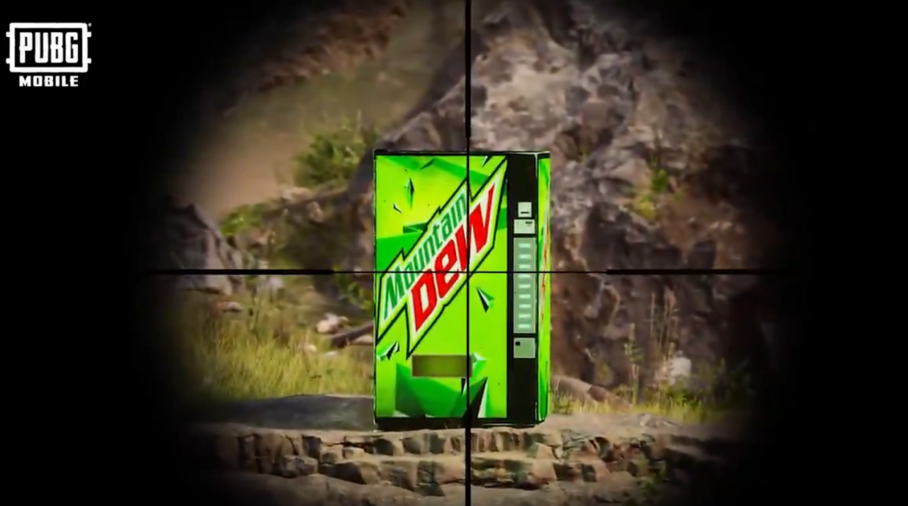 pubgm x mountain dew 1