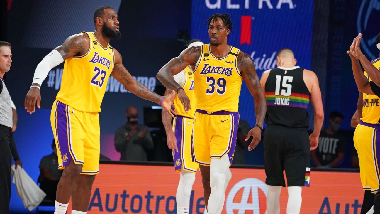 Canalizando a Kobe Bryant, Dwight Howard dice que el trabajo de los Angeles Lakers 'no ha terminado'