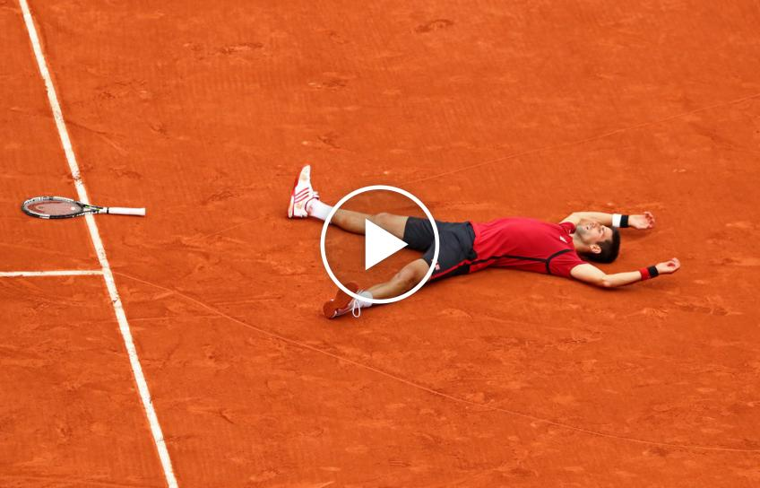 Carrera Grand Slam de Novak Djokovic