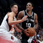 Este intercambio Knicks-Spurs presenta a DeMar DeRozan a Nueva York