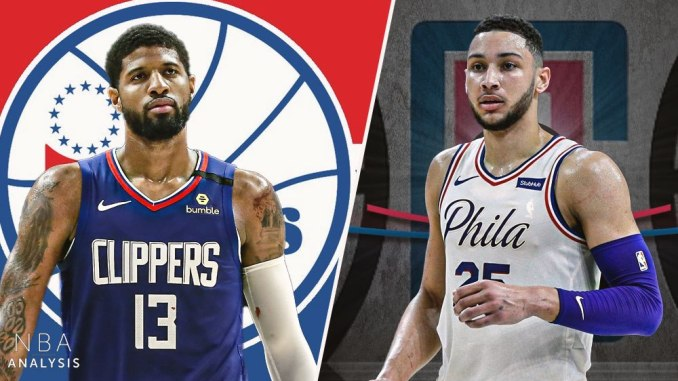 Paul George, Ben Simmons, Clippers, 76ers