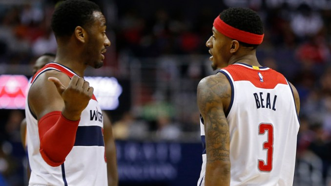 John Wall, Bradley Beal, Wizards, Pacers