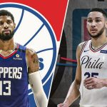 Este intercambio 76ers-Clippers presenta a Paul George, Simmons