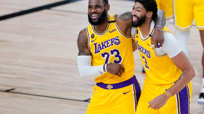 Los Angeles Lakers, Anthony Davis, LeBron James, NBA Rumors, Serge Ibaka, Evan Fournier, Orlando Magic, Atlanta Hawks, John Collins