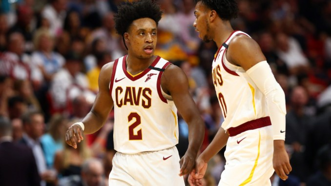 Cleveland Cavaliers, Collin Sexton, Kevin Love, Darius Garland, Isaac Okoro, Andre Drummond, Kevin Love