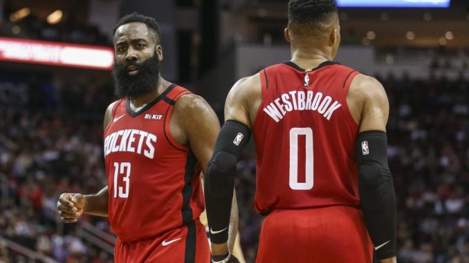 Rumores de intercambio de la NBA, Houston Rockets, Russell Westbrook, James Harden, Brooklyn Nets