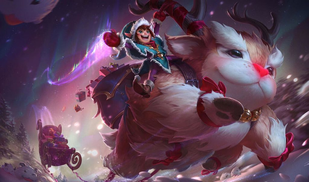 Los mejores aspectos de League of Legends Snowdown