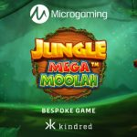 Microgaming lanza la tragamonedas Jungle Mega Moolah creada por Aurum Signature Studios exclusivamente en Kindred Group