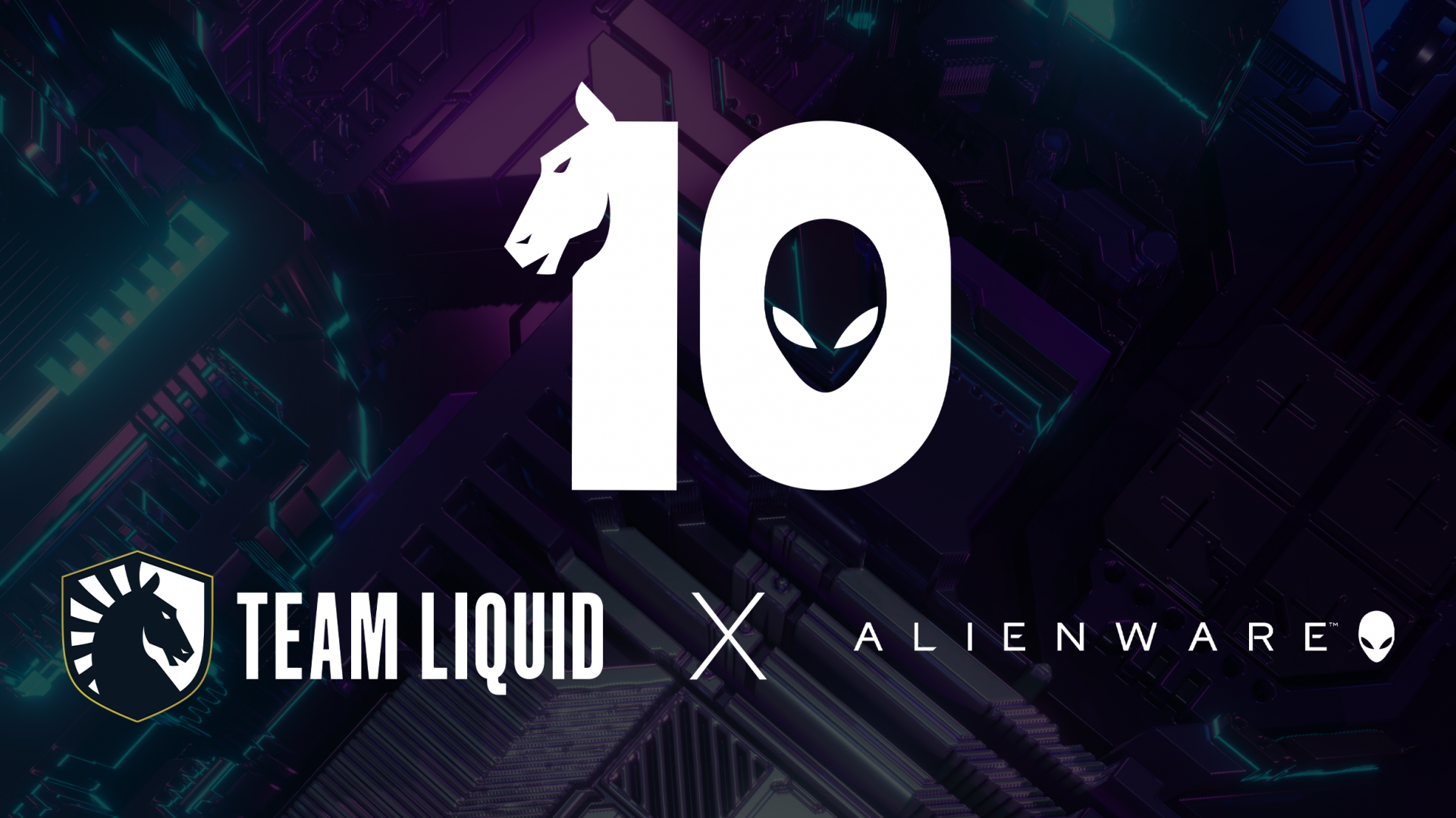 Team Liquid Alienware 10 años de asociación Liquid +