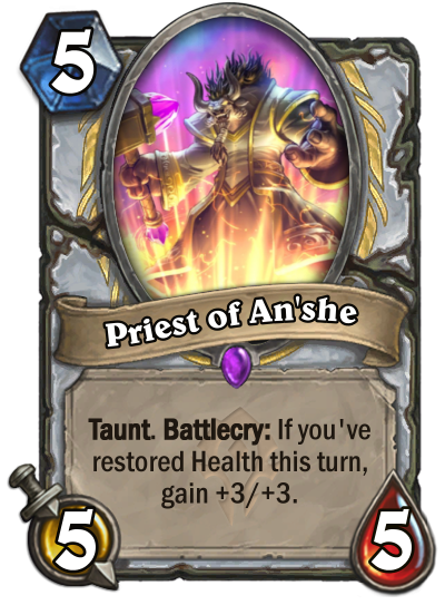 Priest of Anshe se une a la expansion Forged in