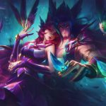 El jugador de League of Legends usa Xayah ultimate y Flash en el momento perfecto para conseguir un quadra kill