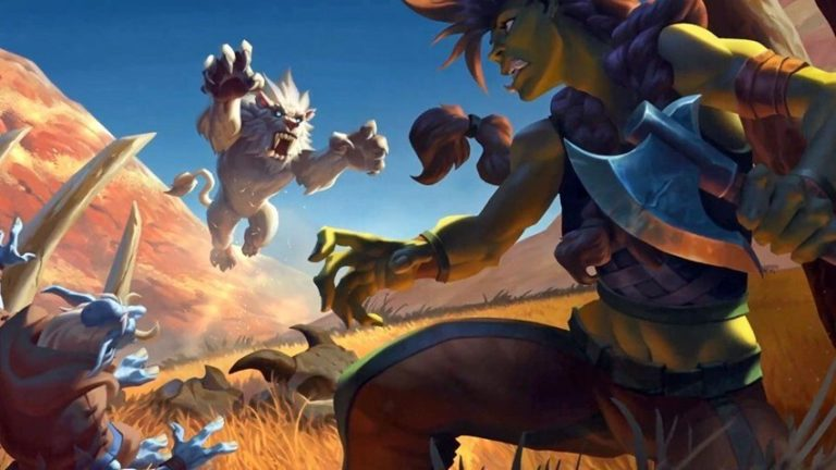 Forged in the Barrens Hearthstone Promo Art 1 768x432 1